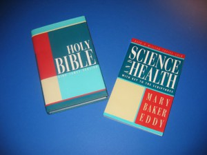 Holy Bible and Science and Health by Mary Baker Eddy